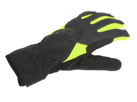 Χειμερινά γάντια ποδηλασίας | AUTHOR | Windster X5 | μαύρο | κίτρινο-neon