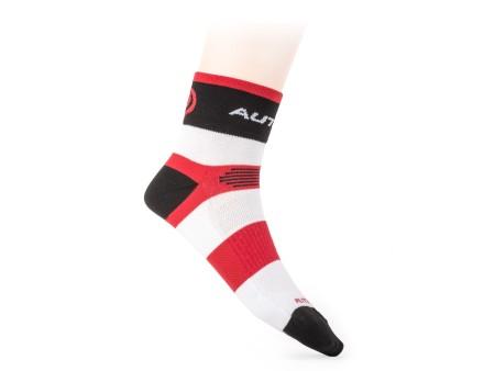 Κάλτσες Ποδηλασίας Author XC| κόκκινο | λευκό | μαύρο