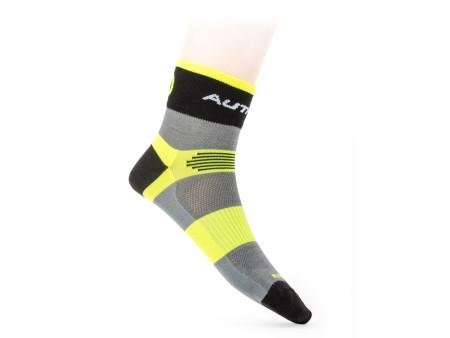 Κάλτσες ποδηλασίας  Author XC | κίτρινο-νεον | γκρί | μαύρο