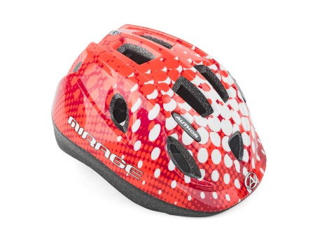 Κράνος ποδηλασίας | Author | Mirage | Inmold | 168 | Κόκκινο Λευκό
