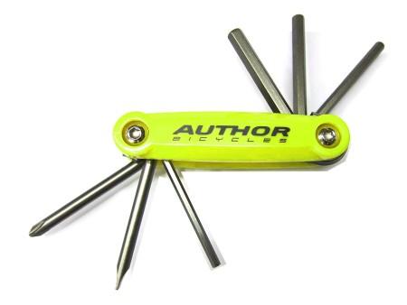 Πολυεργαλείο | Author | AHT ToolBox 6 | Κίτρινο νεον/Μαύρο