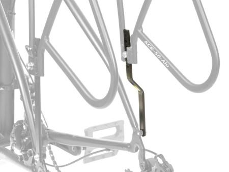 Αντάπτορας Σχάρας ποδηλάτου   AUTHOR   ACR-50   Αλουμίνιο   Μαύρη
