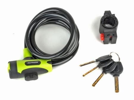 Κλειδαριά   Author   Spiral ASL-25   Πράσινο Μαύρο