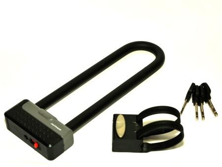 Κλειδαριά | Author | U-lock AUL Cliff  SM 100x290mm | Μαύρο