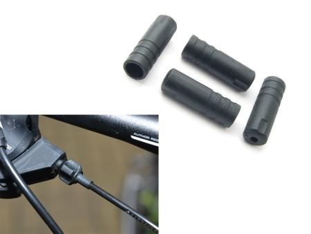 Φωλιά καλωδίου ταχυτήτων ABS-Kb-03S 4mm | Πακέτο 100 τμχ (black)