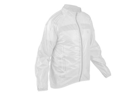 Αδιάβροχο και αντιανεμικό jacket ποδηλασίας   AUTHOR Dintex   λευκό