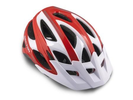 Κράνος ποδηλάτου | Author |Sector Inmold |121 Κόκκινο Λευκό