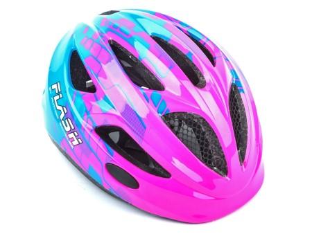 Κράνος ποδηλασίας  | Author | Flash Inmold  X8 | Ρόζ Μπλε