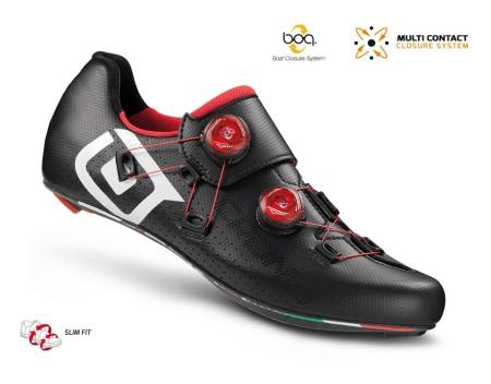 Παπούτσια ποδηλασίας Δρόμου | CR1 | CRONO | carbon | κόκκινο μαύρο