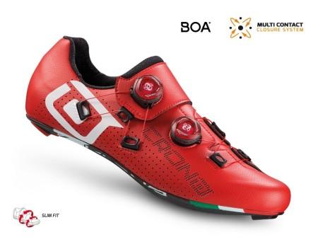 Παπούτσια για ποδηλασία Δρόμου | CR1 | CRONO | carbon | κόκκινα