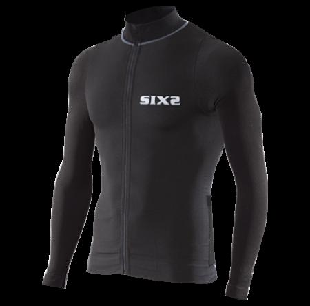 Φανέλα ποδηλασίας με μακρύ μανίκι | SIX2 | Carbon BIKE4 | CHROMO