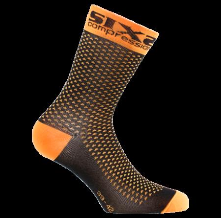 Συμπιεστικές Κάλτσες ποδηλασίας | SIX2 | COMP SHO C