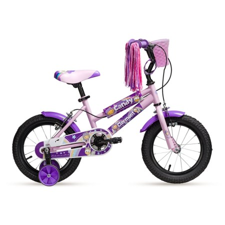 Ποδήλατο παιδικό | CLERMONT | Candy | 12 ιντσών | Μώβ | podilatis.gr