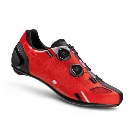 Παπούτσια ποδηλασίας Δρόμου | CR2 | CRONO | carbon /nylon IΚόκκινο