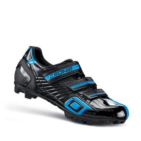 Παπούτσια για ορεινή ποδηλασία και spinning   CRONO   CΧ3-19 ΜΤΒ Nylon   Μαύρο Κόκκινο