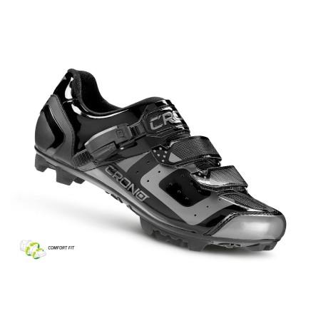 Παπούτσι για ορεινή ποδηλασία Crono CX-3 MTB NYLON   μαύρο