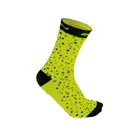 Κάλτσες Ποδηλασίας | BRN | Triangle | Κίτρινο Fluo