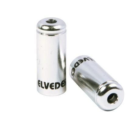 Τελείωμα καλωδίου φρένων | ELVEDES | 5 mm | Ασημί