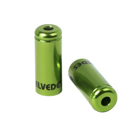 Τελείωμα καλωδίου φρένων | ELVEDES | 5 mm | Πράσινο