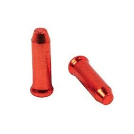 Τελείωμα συρματόσχοινου φρένων και ταχυτήτων   ELVEDES   0.2 mm   Κόκκινο