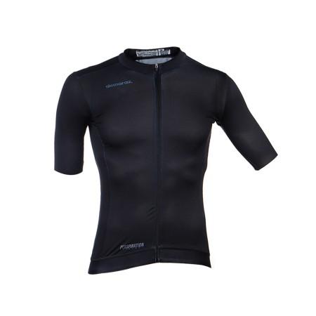 Φανέλα ποδηλασίας   Κοντό Μανίκι   DEMARAZ   Pro Elite   Μαύρη