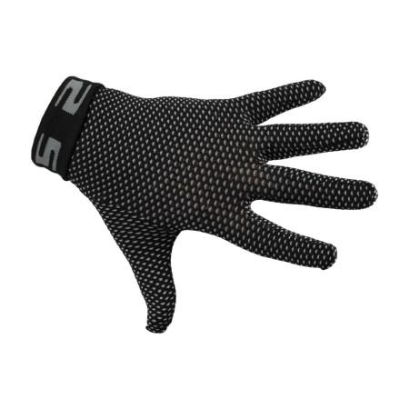 Γάντια ποδηλασίας | SIX2 | Εσωτερική επένδυση γαντιού GLX | Μαύρο | podilatis.gr