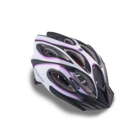 Κράνος ποδηλασίας   Author   Skiff Inmold  144 Μώβ/Λευκό/Μαύρο