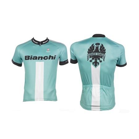 Κοντομάνικη Μπλούζα Ποδηλασίας | Bianchi | Reparto Corse | Celeste