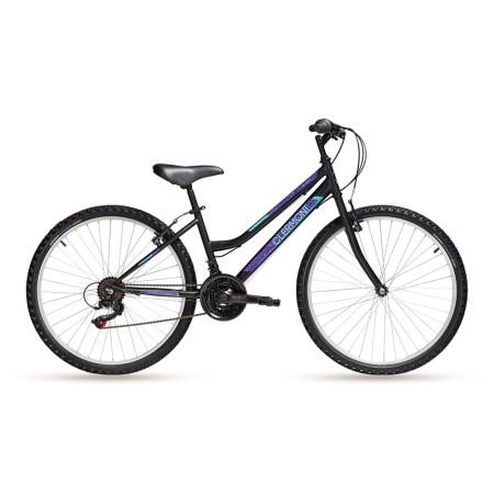 Παιδικό ποδήλατο με δώρο το πίσω φως   CLERMONT   Magusta   24 ιντσών   Shimano   Μαύρο
