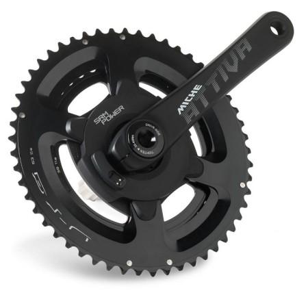 Δισκοβραχίονας με βατόμετρο | Miche-SRM | για ποδήλατα Δρόμου