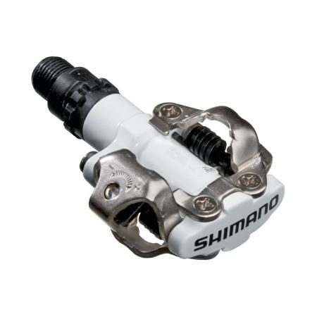 Πετάλια ποδηλάτου   Shimano   PD-M520W   Λευκό   podilatis.gr