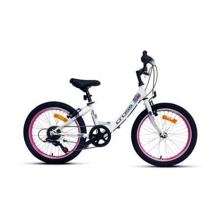 Ποδήλατο παιδικό | Cross | Alissa | 20 ιντσών | Λευκό | podilatis.gr