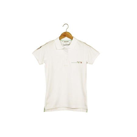 Κοντομάνικη γυναικεία μπλούζα Polo Bianchi