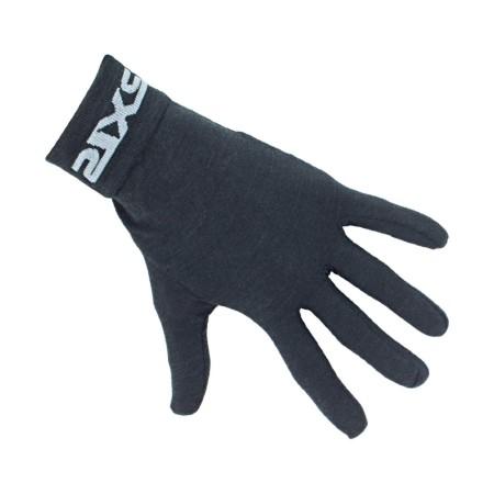 Χειμερινά γάντια ποδηλασίας | SIX2 | Υπόστρωμα γαντιού GLX Merino | Μαύρο | podilatis.gr