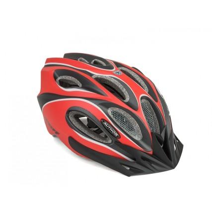 Κράνος ποδηλασίας   Author   Skiff Inmold  172 Kόκκινο/Mαύρο