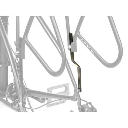 Αντάπτορας Σχάρας ποδηλάτου | AUTHOR | ACR-50 | Αλουμίνιο | Μαύρη