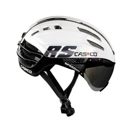 Κράνος ποδηλάτου | CASCO | SPEEDairo RS | με VAUTRON®automatic visor | Μαύρο Λευκό