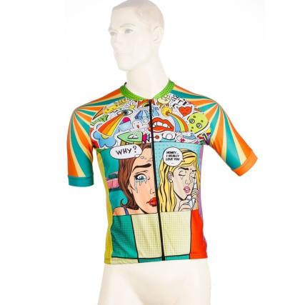 Φανέλα ποδηλασίας | Demaraz | Pop Art | podilatis.gr