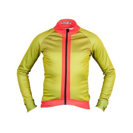 Μπουφάν Ποδηλασίας | DEMARAZ | Pro γραμμή | Πράσινο