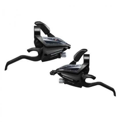 Λεβιέ ταχυτήτων | SHIMANO | ST-EF500-2A | 3x8 ταχύτητες | podilatis.gr