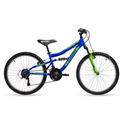Ποδήλατο | CLERMONT | Pamir | Shimano - V-Brake | 24 ιντσών | Μαύρο Ματ