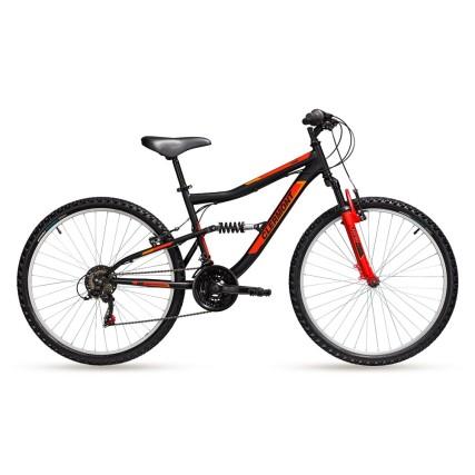 Ποδήλατο | CLERMONT | Pamir | Simplex - V-Brake | 24 ιντσών | Μαύρο