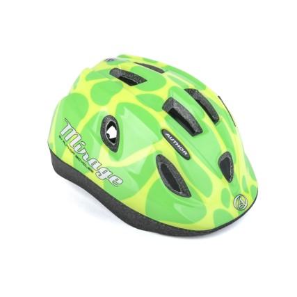 Παιδικό κράνος ποδηλασίας | Author | Mirage Inmold | Κίτρινο Πράσινο