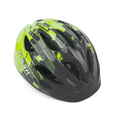 Κράνος ποδηλασίας | Author | Flash Inmold  X8 | Γκρί Πράσινο