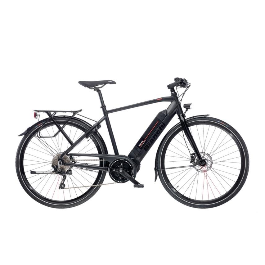 Ηλεκτρικό ποδήλατο | Bianchi | E-Spillo Active | 700c | Μαύρο