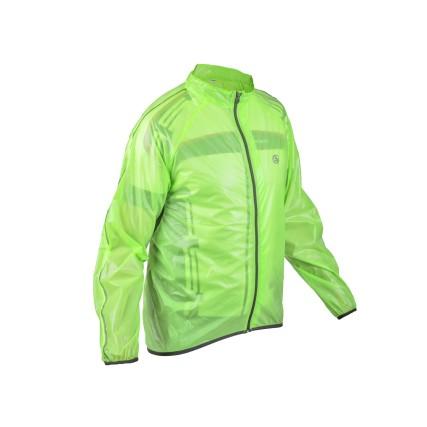 Αδιάβροχο και αντιανεμικό jacket AUTHOR Dintex πράσινο λαχανί