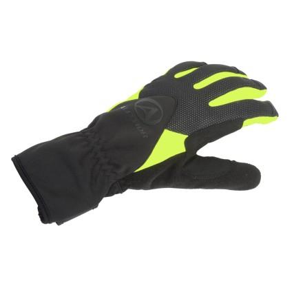 Χειμερινά γάντια ποδηλασίας   AUTHOR   Windster X5   μαύρο   κίτρινο-neon