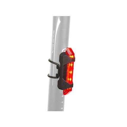 Φως ποδηλάτου | Επαναφορτιζόμενο | AUTHOR A-Stake Mini | USB | Οπίσθιο | μαύρο