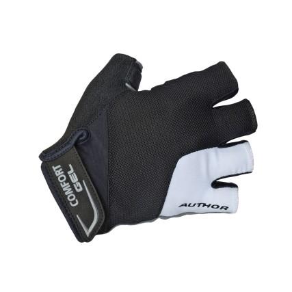 Γάντια ποδηλασίας | AUTHOR | Comfort Gel X6 | Λευκό | Μαύρο