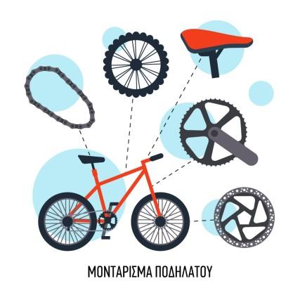 Μοντάρισμα ποδηλάτου
